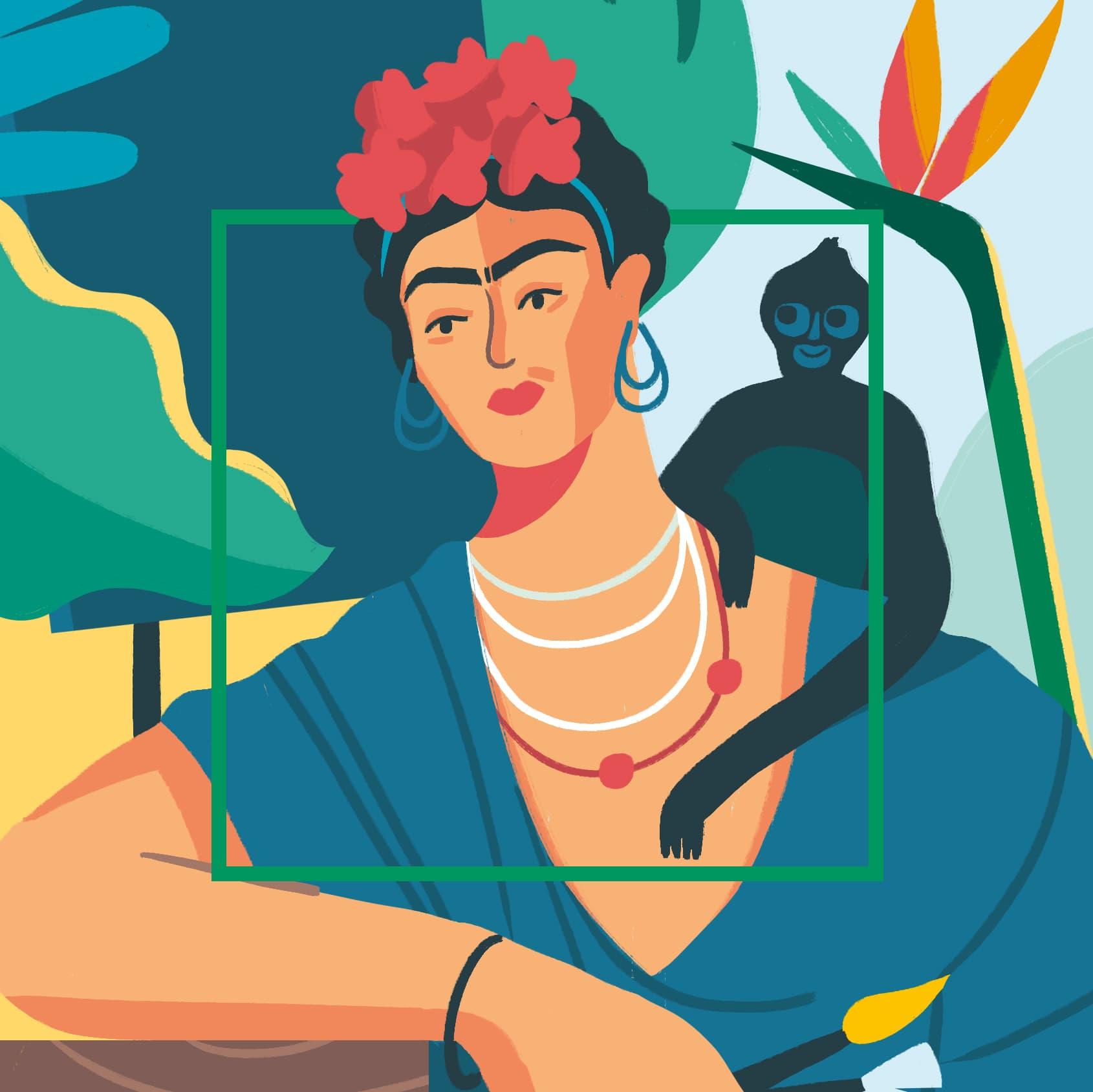 Frida<br/>Kahlo<br/>(1907-1954)