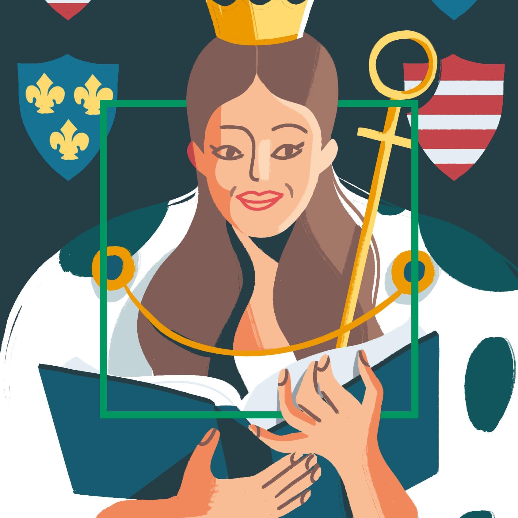 Królowa Jadwiga<br/>Andegaweńska<br/>(1373/4-1399)